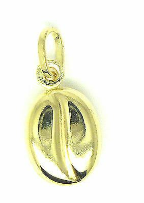 9ct Yellow Gold Coffee Bean Charm / Pendant                                 1633