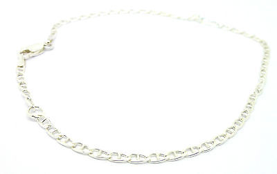 "Sterling Silver 925 9.75"" Marine Link  Ankle Chain /Anklet                  1594"